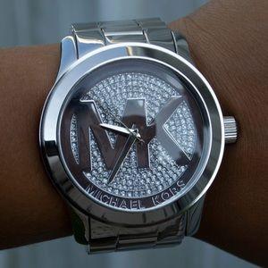 Women's Michael Kors Silver Watch